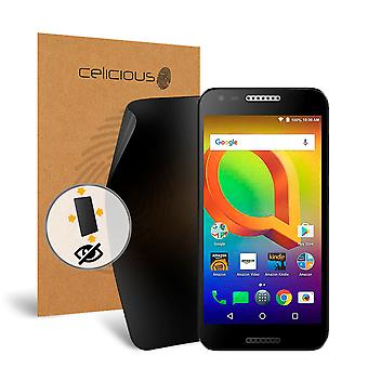 Celicious Privacy oltre 4 vie Anti-Spy Screen Protector Film compatibile con Alcatel A30 del filtro