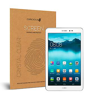 Celicious Vivid Invisible Glossy HD Screen Protector Film Compatible with Huawei Mediapad T1 10 [Pack of 2]