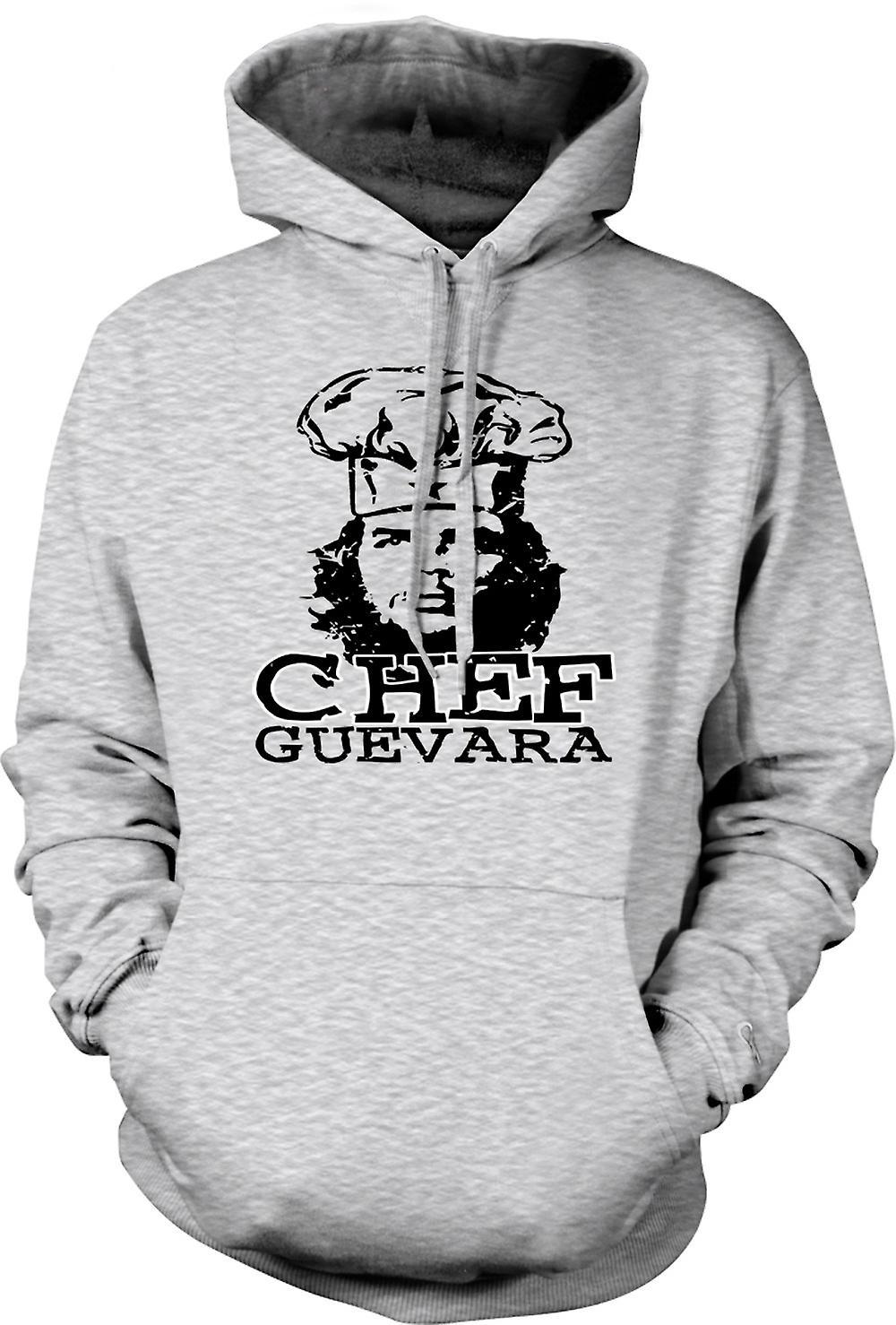Mens Hoodie - Chef Guevara Cool