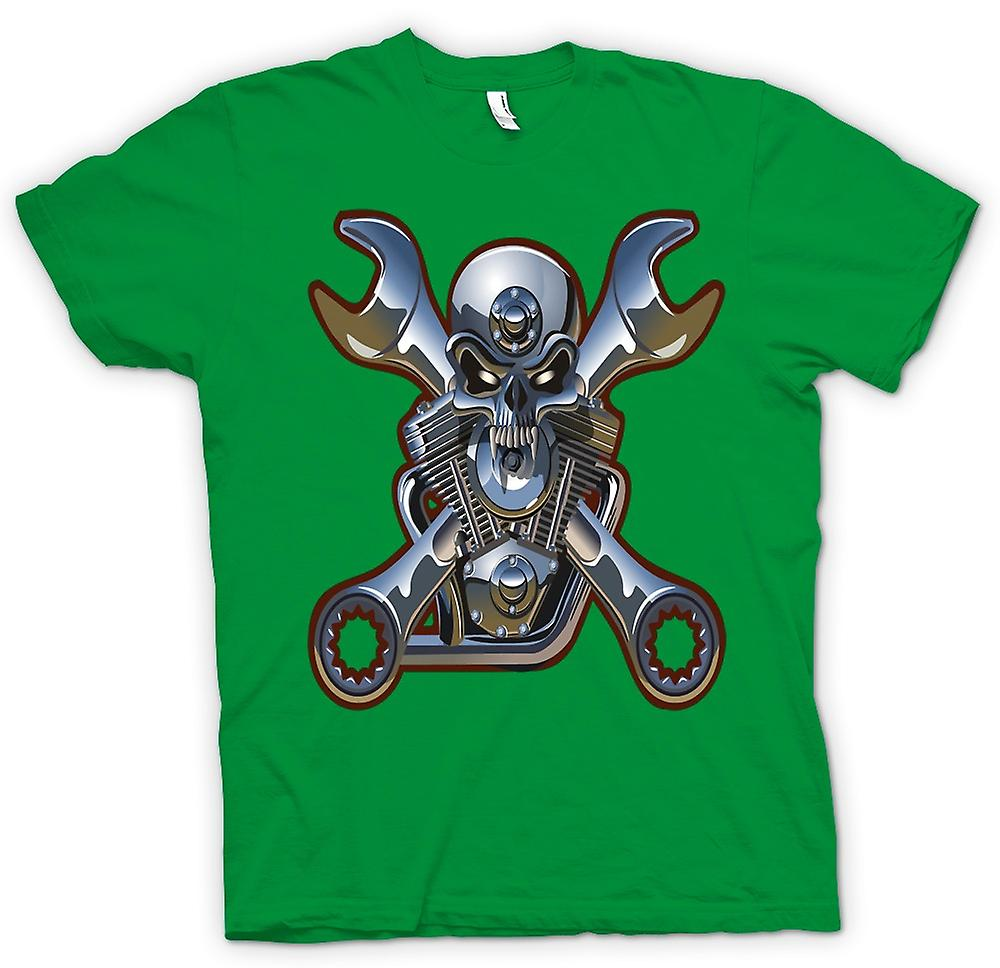 Mens T-shirt-Biker Motor Mechaniker
