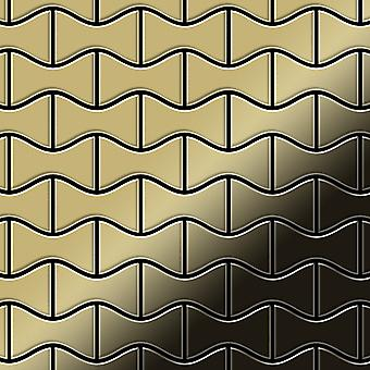 Metal mosaic Brass ALLOY Kismet-BM