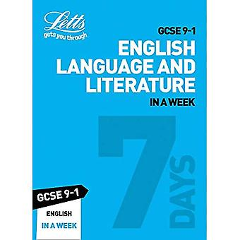 GCSE 9-1 English In a Week (Letts GCSE 9-1 Revision Success) (Letts GCSE 9-1 Revision Success)