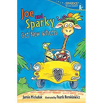 Joe y Sparky recibe nuevas llantas