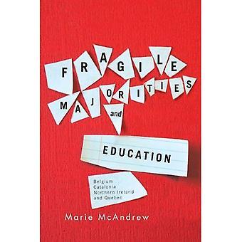 L'éducation et les majorités fragiles