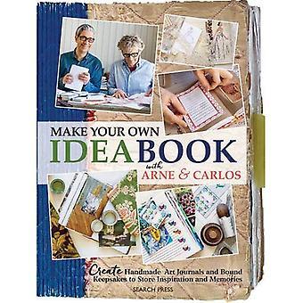Hacer tu propio Ideabook con Arne y Carlos: crear arte hecho a mano revistas y recuerdos enlazados a la inspiración de la tienda...