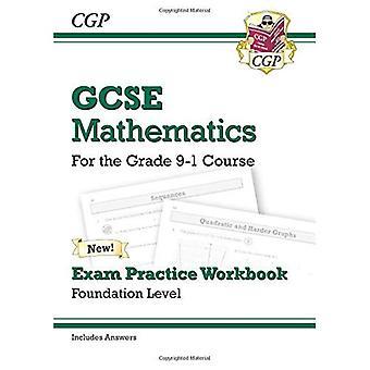 Nueva matemáticas GCSE examen práctica libro: Fundación - para el grado 9-1 curso (incluye respuestas)