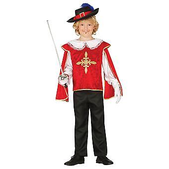 Boys Musketeer Fancy Dress Costume