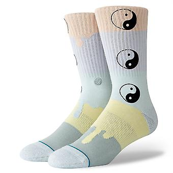 Stance Lifestyle Mens Socks ~ Ying To Your Yang (size L)