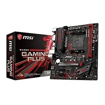 Kort mor Gaming MSI B450M GPLUS mATX AM4