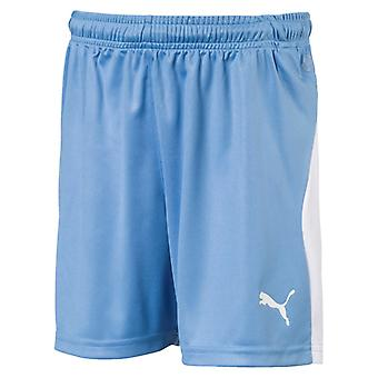PUMA Ligue s Jr enfants de shorts de soccer Silver Lake bleu-blanc