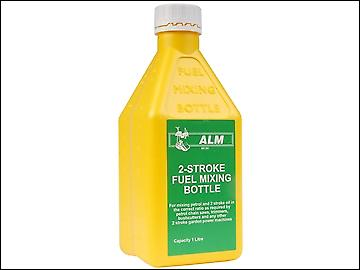 ALM Manufacturing MX001 2 Stroke Fuel Mixing Bottle Yellow