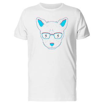 Cat Thunder Glasses Tee Men's -Image by Shutterstock
