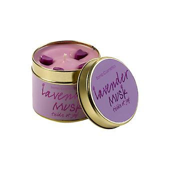 Bomb Cosmetics Tinned Candle - Lavender Musk