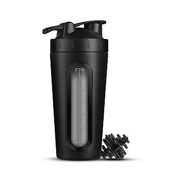 Shaker in roestvrij staal, 700 ml-zwart