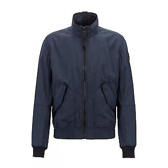 Hugo Boss Casual Mens Hugo Boss Water Navy Repellent Jacket