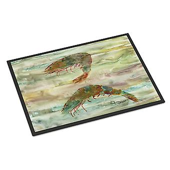 Carolines Treasures  SC2014MAT Shrimp Sunset Indoor or Outdoor Mat 18x27