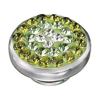 KAMELEON Peridot Sparkle Sterling Silver JewelPop KJP58