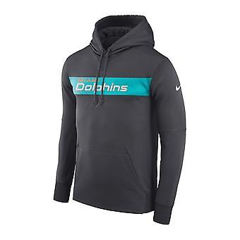 Nike Nfl Miami Dolphins Therma Po Hood