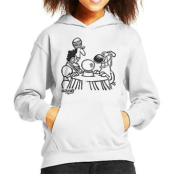 Grimmy Fortune Teller Kid's Hooded Sweatshirt