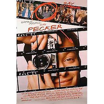 Pecker (yksipuolinen Regular) alkuperäinen elokuva teatteri juliste