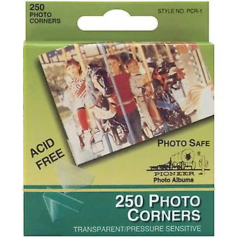 Photo Corners Self Adhesive 250 Pkg Clear Pcr 1