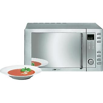 Microwave 800 W Heat convection, Grill function Clatronic MWG775H
