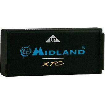 Camera battery Midland replaces original battery XTA-500 3.7 V 9