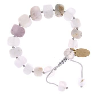 Lola Rose Fern bracciale bianco Multi Agata
