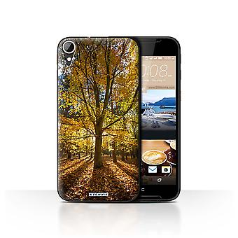 STUFF4 Case/Cover for HTC Desire 830/Woodland/Autumn Season