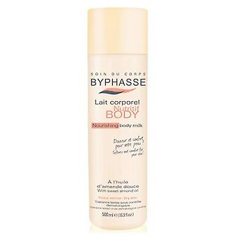 Byphasse Nourishing Body Milk Dry Skin Almond Oil