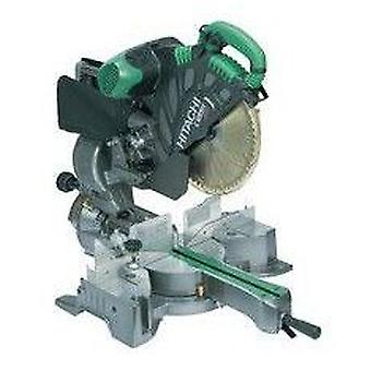 Hitachi 1520W miter saw 305mm telescopica