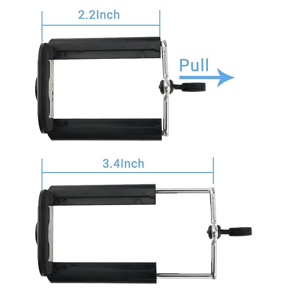 ONX3 (stativ telefonhållare) Samsung Galaxy S8 Plus justerbar Mini 360 vridbart stativ stå med telefon Clip Holder