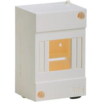 Switchboard cabinet Surface-mount No. of partitions = 4 No. of rows = 1 IDE 24150