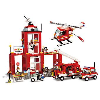 Sluban Town Fire Station Complete (Toys , Constructions , Buildings)