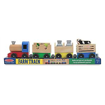 Melissa & Doug Farm Train Age 3+