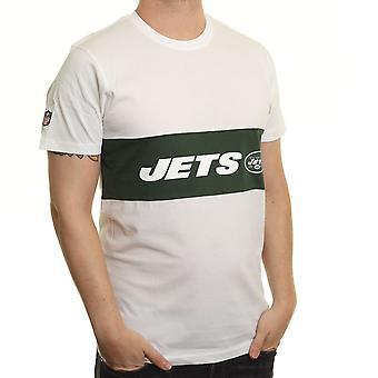Neue Ära Border Edge Panel T-Shirt ~ New York Jets