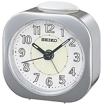 Seiko Luminious vækkeur - sølv (QHE121S)