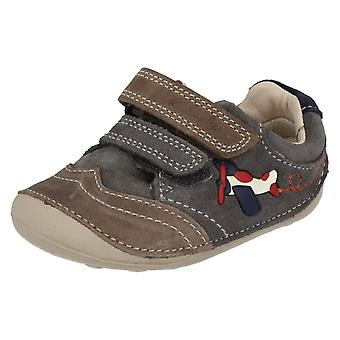 Boys Clarks First Shoes/Cruisers Tiny Liam