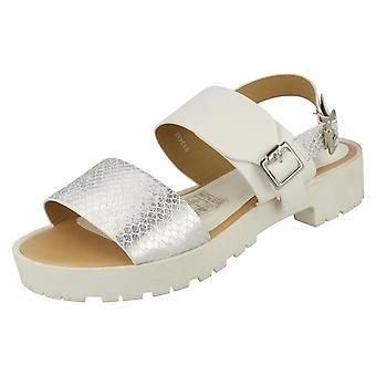 Womens Savannah Buckle Strap Retro Sandals