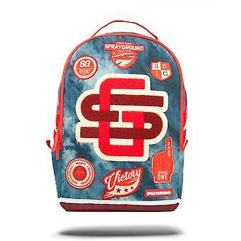 Sprayground Acid Varsity Backpack - Denim