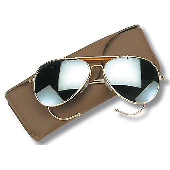 New Aviator Pilot Sunglass Lenses With Case
