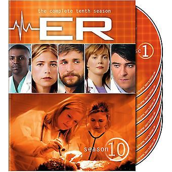 ER - ER: Saison 10 [DVD] USA importieren