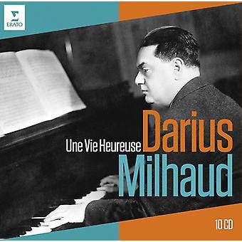 Milhaud - Darius Milhaud 40e anniversaire-Une Vie Heureuse [CD] USA import