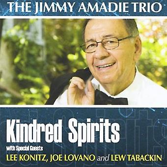 Jimmy Amadie Trio - Kindred Spirits [CD] USA import