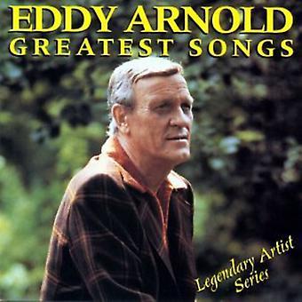 Eddy Arnold - importación de los E.e.u.u. más grandes canciones [CD]