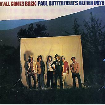Paul Butterfield - It All Comes Back [CD] USA import
