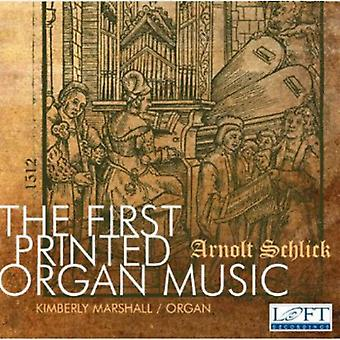 Arnolt Schlick - den første trykte orgelmusik: Arnolt Schlick [CD] USA import