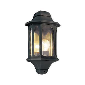 ideas4lighting Outdoor Black Half Lantern