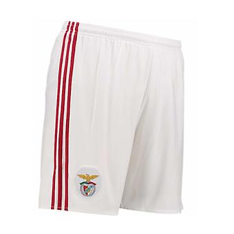 2017-2018 Benfica Adidas Home Shorts (White)