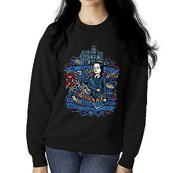 Środa Addams możemy chętnie święto Addams Family Damska bluza